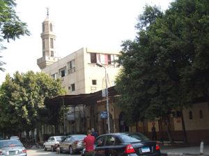 カイロ市内のモスク